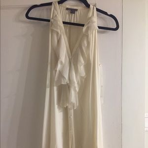 Vince Tunic in Cream - Size S